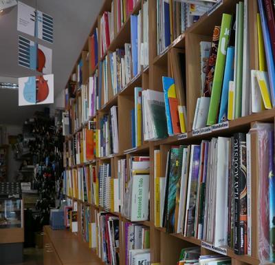 Songbooks, Musik- und Lehrbücher aller Art